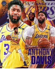 Lakers Wallpaper, Anthony Davis, Basketball Teams, Nba Players, Los Angeles Lakers, Lebron James, Brow, Nfl, King