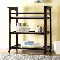 Graco - Lauren Changing Table, Espresso  $79.97 + .97 cent shipping to HOME at Wal-Mart.com.