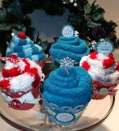 Fuzzy socks cupcakes!