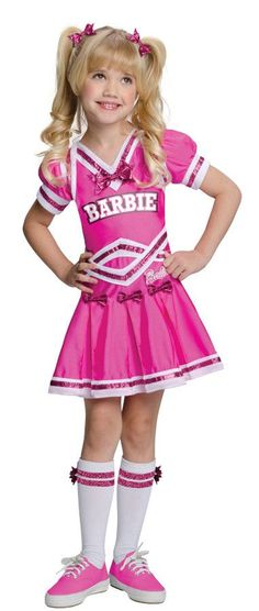 BARBIE CHEERLEADER CHILD