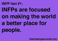 Myers-Briggs Personality Types • Posts Tagged 'infp'