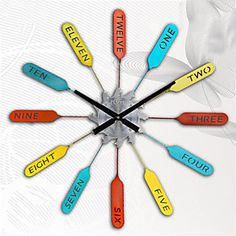 Memorial Day Aluminum Wall Clock