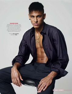 Neymar Junior by Jean Baptiste Mondino for GQ Italia Soccer Fans, Football Players, Lionel Messi, Neymar Pic, Chad White, Mtv Video Music Award, Fade To Black, African American Men, Best Player