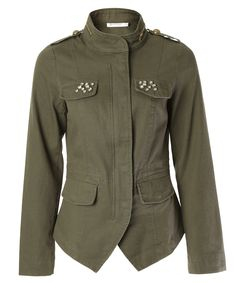 Ricki's: twill military blazer http://www.rickis.com on sale for the win!