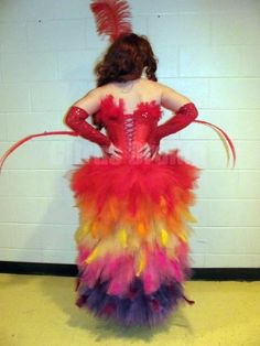 Mayzie La Bird Costume Back Photo: This Photo was uploaded by CarolineAMarie. Find other Mayzie La Bird Costume Back pictures and photos or upload your . Seussical Costumes, Theatre Costumes, Dance Costumes, Parrot Costume, Bird Costume, Theatre Nerds, Musical Theatre, Theater, Disney Halloween