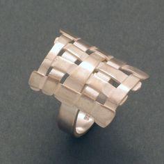 Ring Gitter von schmuckwerk-shop auf DaWanda.com
