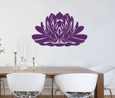 Housewares Vinyl Decal Amazonian Water Lily Lotus Flower Home Wall Art Decor Removable Stylish Sticker Mural Unique Design for Any Room Decal House http://www.amazon.com/dp/B00DQ92816/ref=cm_sw_r_pi_dp_Q8aUtb0974QGRW97