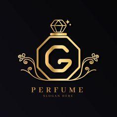 Design Floral, Floral Logo, Estilo Floral, Perfume Logo, Luxury Logo, Heart Logo, Business Logo Design, Logo Concept, Logo Design Inspiration