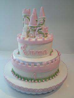 Tarta Castillo de Princesas / Princess castle cake