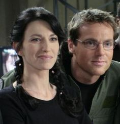 Daniel and Vala, 200th episode of Stargate SG1.