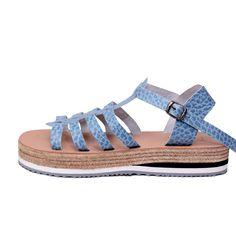 find them here: www. Greek Sandals, Gladiator Sandals, Designer Sandals, Birkenstock Florida, Exclusive Collection, Seychelles, Leather Bag, Espadrilles, Light Blue