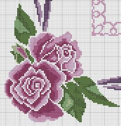 This Pin was discovered by Ali Cross Stitch Pillow, Cross Stitch Borders, Cross Stitch Designs, Cross Stitching, Cross Stitch Patterns, Beaded Cross Stitch, Cross Stitch Rose, Cross Stitch Flowers, Cross Stitch Embroidery