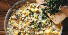 Kartoffelsuppe mit Champignons ist ein Rezept mit frischen Zutaten aus der Kategorie Eintöpfe. Probieren Sie dieses und weitere Rezepte von EAT SMARTER!