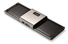 Charger your USB devices anywhere with the portable solar charger. now wouldn't that be nice in the rv?