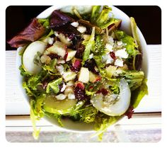 Fall Harvest Salad with Honey Balsamic Vinaigrette....