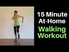 15 Minute At Home Walking Video - YouTube One Song Workouts, Cheer Workouts, Easy Workouts, Mini Workouts, Morning Workouts, Workout Songs, Gym Workout For Beginners, Fitness Workout For Women, Workout Videos