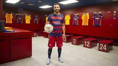 Arda Turan in the Barça dressing room / VÍCTOR SALGADO - FCB