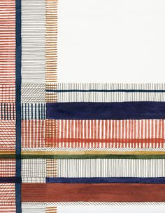 Les folles créations design signées Hermès : Un papier peint comme une aquarelle