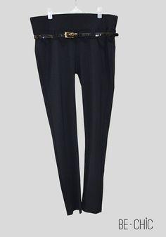 Pantalon Leggings avec cinture | couleur noir | Prix : 150dh