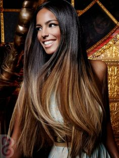 Hair Splendor Beauty Supply Style Suggestion:  Golden Brown with Honey Blonde make Caramel Highlights.  Great look on black hair!