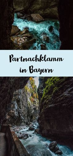 Partnachklamm - One of the most beautiful places in Bavaria - Sophia's world - Traditional Culture Holiday World, Holiday Places, Europe Destinations, Holiday Destinations, France Travel, Germany Travel, Travel Around The World, Around The Worlds, Reisen In Europa