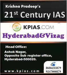 21st century Kpias Academy: Best Institute for IAS coaching in Hyderabad&Vizag...