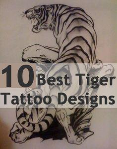 Best Tiger Tattoo Designs