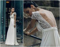 Luce un romántico vestido de novia Laure de Sagazan 2016. ¡Te encantarán! Image: 16