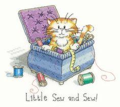 Little Sew & Sew Cross Stitch Kit £19.25 | Past Impressions | Heritage Crafts