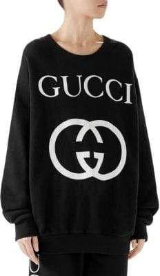 fc1648cc9b4 Gucci GG Logo Sweatshirt