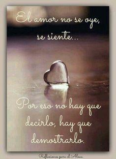 El amor. ..