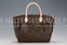 Louis Vuitton Turenne Monogram Canvas MM Bag Fake Lv Bags