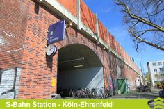 S-Bahn Haltestation Köln-Ehrenfeld