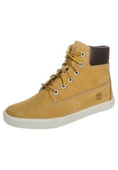 Timberland EARTHKEEPERS SLIM Sneakers hoog Bruin Kinderen Hoge sneakers leer kinderschoenen kinder maat: 18,