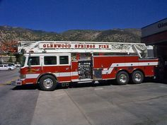 Glenwood Springs Fire Department (CO) Ladder Truck