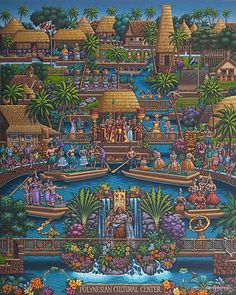Dowdle Jigsaw Puzzles - Polynesian Cultural Center