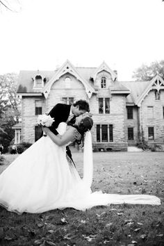 Kiss in front of the chapel... uh huh