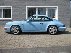 Porsche 911 - 964 RS, gulf blue
