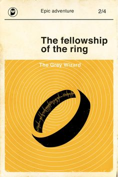 Lord of the rings retro poster, the fellowship of the ring - minimalist, retro, mid-century, vintage, modern design This iconic poster is
