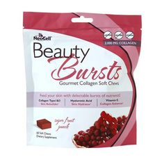 NeoCell Beauty Burst Collagen Soft Chews Fruit Punch - 60 ea