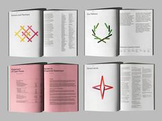 Trudeau Fondation / 2016 Annual Report on Behance