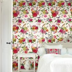 pip studio chinese rose wallpaper off white nubehangennl behang slaapkamer
