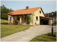Meravigliosa casa rustica con portico immersa nel verde for Bovindo francese