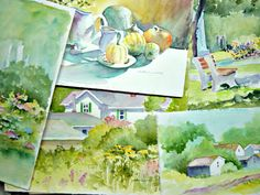 Blog...Lots of watercolor tips.& paintings by Catherine Carey