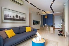 Apartment in Singapore by KNQ Associates | HomeAdore