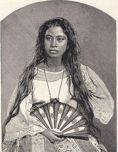Philippines People, Philippines Culture, Philippines Country, Filipino Art, Filipino Culture, Mahal Kita, Filipina Beauty, Filipiniana, Historical Pictures