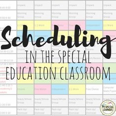 Need help putting together a schedule for your special education classroom? Look… Need help putting together a schedule for your special education classroom? Look…,Inclusive Classroom Need help putting together a schedule for your special. Special Education Schedule, Teaching Special Education, Co Teaching, Kids Education, Special Education Inclusion, Special Education Quotes, Inclusion Classroom, Education Logo, Class Schedule