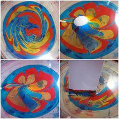 Ostereier bemalen marmor-effekt-farben-staebchen-vermischen