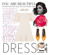 """off-dress look"" by bellanindia on Polyvore featuring Valentino, Kate Spade and Humble Chic"