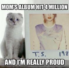 1989 4M albums! SO AM I OLIVIA